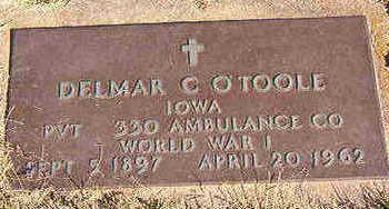 O'TOOLE, DELMAR C. - Black Hawk County, Iowa | DELMAR C. O'TOOLE