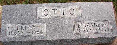 OTTO, ELIZABETH - Black Hawk County, Iowa | ELIZABETH OTTO