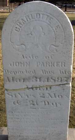 PARKER, CHARLOTTE E. - Black Hawk County, Iowa | CHARLOTTE E. PARKER