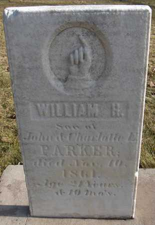 PARKER, WILLIAM H. - Black Hawk County, Iowa | WILLIAM H. PARKER
