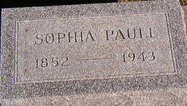 PAULI, SOPHIA - Black Hawk County, Iowa | SOPHIA PAULI