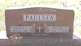 PAULSEN, DONALD F. - Black Hawk County, Iowa | DONALD F. PAULSEN