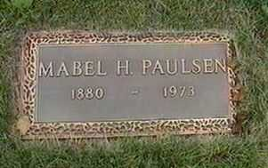 PAULSEN, MABEL H. - Black Hawk County, Iowa | MABEL H. PAULSEN