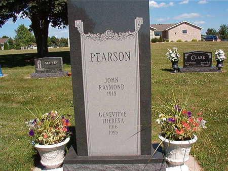 PEARSON, JOHN  RAYMOND - Black Hawk County, Iowa | JOHN  RAYMOND PEARSON