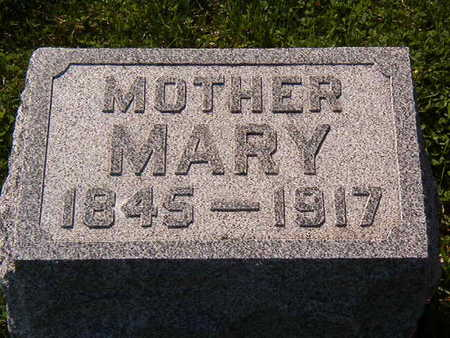 PETERSEN, MARY - Black Hawk County, Iowa | MARY PETERSEN