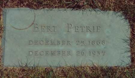 PETRIE, BERT - Black Hawk County, Iowa | BERT PETRIE