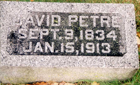 PETRIE, DAVID - Black Hawk County, Iowa | DAVID PETRIE
