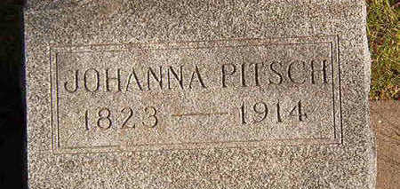 PITSCH, JOHANNA - Black Hawk County, Iowa | JOHANNA PITSCH