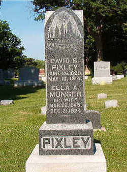PIXLEY, ELLA A. - Black Hawk County, Iowa | ELLA A. PIXLEY
