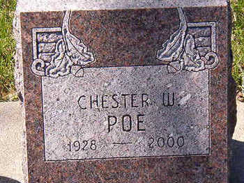 POE, CHESTER W. - Black Hawk County, Iowa | CHESTER W. POE