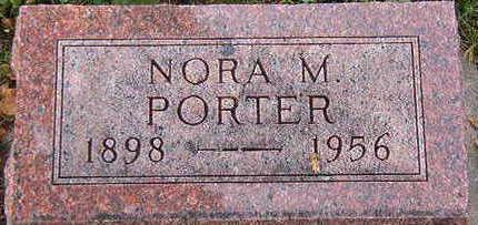 PORTER, NORA M. - Black Hawk County, Iowa | NORA M. PORTER