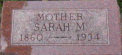 PORTER, SARAH M. - Black Hawk County, Iowa | SARAH M. PORTER