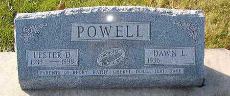 POWELL, LESTER D. - Black Hawk County, Iowa | LESTER D. POWELL