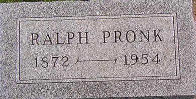 PRONK, RALPH - Black Hawk County, Iowa | RALPH PRONK