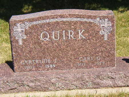 QUIRK, CARL G. - Black Hawk County, Iowa | CARL G. QUIRK