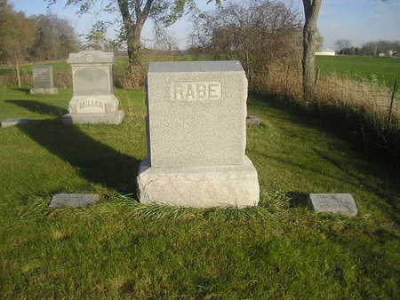 RABE, JOHN F - Black Hawk County, Iowa | JOHN F RABE