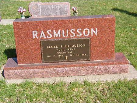 RASMUSSEN, ELMER E. - Black Hawk County, Iowa | ELMER E. RASMUSSEN