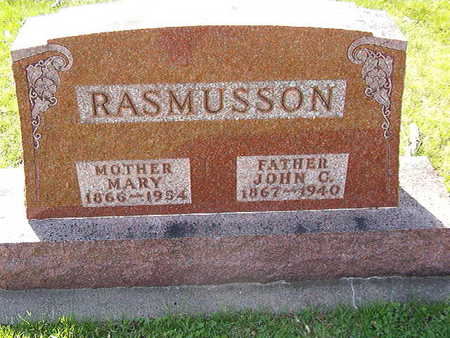 RASMUSSEN, MARY - Black Hawk County, Iowa | MARY RASMUSSEN