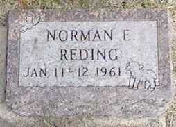REDING, NORMAN E. - Black Hawk County, Iowa | NORMAN E. REDING