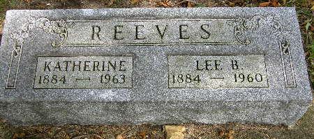 REEVES, LEE B. - Black Hawk County, Iowa | LEE B. REEVES