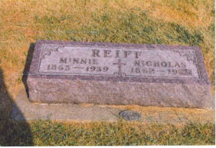 KEEFE REIFF, MINNIE - Black Hawk County, Iowa | MINNIE KEEFE REIFF