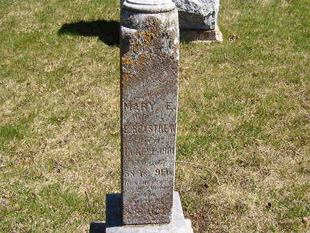 WOOLARY REXSTREW, MARY ELIZABETH - Black Hawk County, Iowa | MARY ELIZABETH WOOLARY REXSTREW