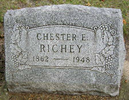 RICHEY, CHESTER E. - Black Hawk County, Iowa | CHESTER E. RICHEY