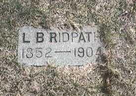 RIDPATH, L.B. - Black Hawk County, Iowa | L.B. RIDPATH