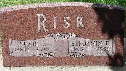 RISK, BENJAMIN F. - Black Hawk County, Iowa | BENJAMIN F. RISK