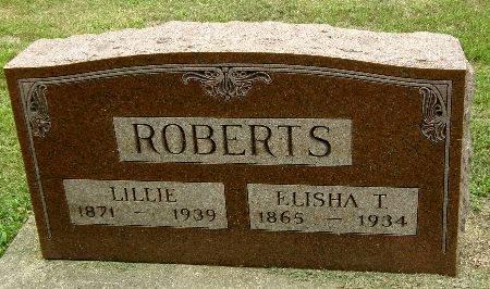 ROBERTS, LILLIE - Black Hawk County, Iowa | LILLIE ROBERTS