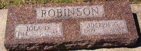 ROBINSON, IOLA D. - Black Hawk County, Iowa | IOLA D. ROBINSON