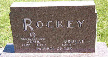 ROCKEY, BEULAH - Black Hawk County, Iowa | BEULAH ROCKEY
