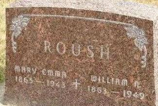 ROUSH, WILLIAM N. - Black Hawk County, Iowa | WILLIAM N. ROUSH