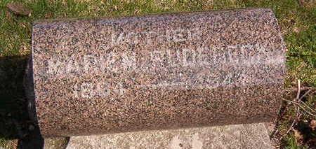 RUDEBECK, MARIE M. - Black Hawk County, Iowa | MARIE M. RUDEBECK