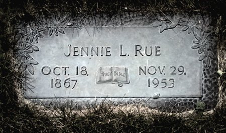 RUE, JENNIE L. - Black Hawk County, Iowa | JENNIE L. RUE