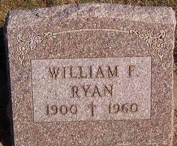 RYAN, WILLIAM F. - Black Hawk County, Iowa   WILLIAM F. RYAN