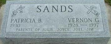 SANDS, VERNON - Black Hawk County, Iowa | VERNON SANDS