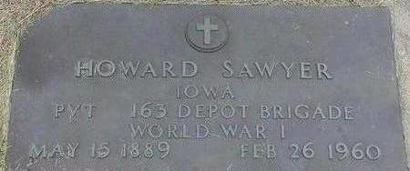 SAWYER, HOWARD - Black Hawk County, Iowa | HOWARD SAWYER
