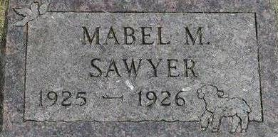 SAWYER, MABEL - Black Hawk County, Iowa | MABEL SAWYER