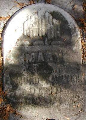 SAWYER, MARY - Black Hawk County, Iowa   MARY SAWYER