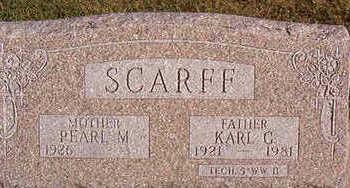 SCARFF, PEARL M. - Black Hawk County, Iowa | PEARL M. SCARFF