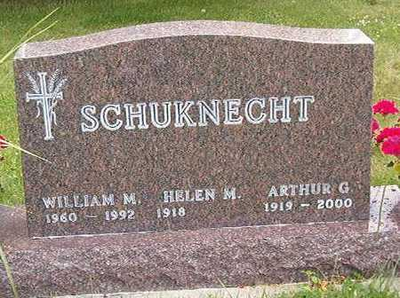 SCHUKNECHT, WILLIAM M. - Black Hawk County, Iowa | WILLIAM M. SCHUKNECHT