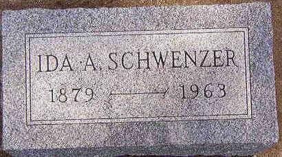 SCHWENZER, IDA A. - Black Hawk County, Iowa | IDA A. SCHWENZER