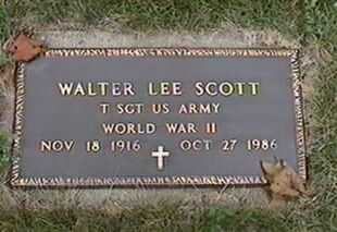 SCOTT, WALTER LEE - Black Hawk County, Iowa | WALTER LEE SCOTT