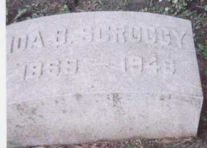 SCROGGY, IDA B. - Black Hawk County, Iowa | IDA B. SCROGGY