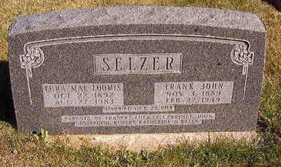 SELZER, FRANK JOHN - Black Hawk County, Iowa | FRANK JOHN SELZER
