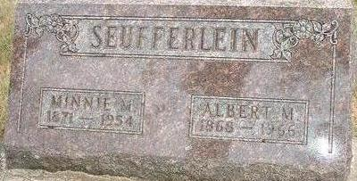 SEUFFERLEIN, MINNIE M. - Black Hawk County, Iowa | MINNIE M. SEUFFERLEIN
