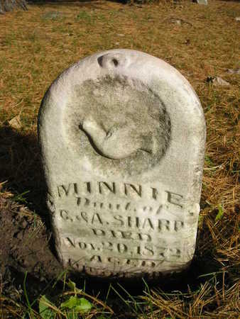 SHARP, MINNIE - Black Hawk County, Iowa | MINNIE SHARP