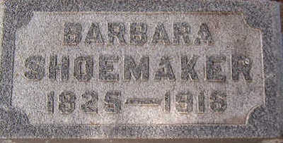 SHOEMAKER, BARBARA - Black Hawk County, Iowa | BARBARA SHOEMAKER