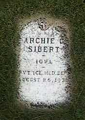 SIBERT, ARCHIE - Black Hawk County, Iowa | ARCHIE SIBERT